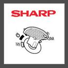 Sharp kassa sleutels